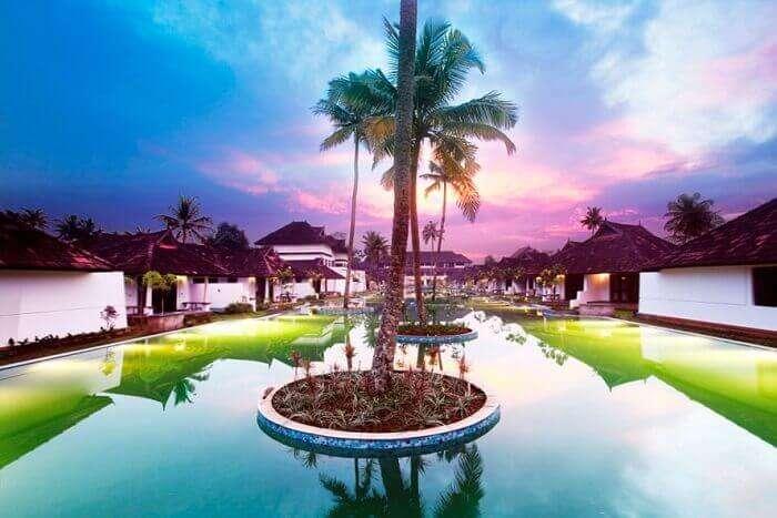 Aveda resort in kumarakom