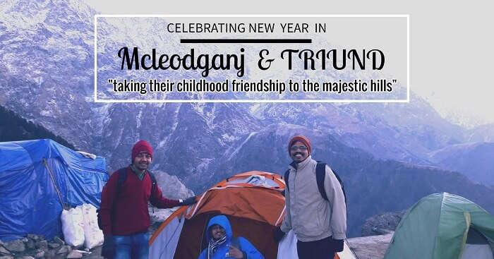 Rahul on a weekend trip to Mcleodganj