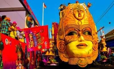 a colorful celebration in goa