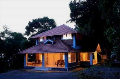 A well lit homestay in Munnar in Kerala