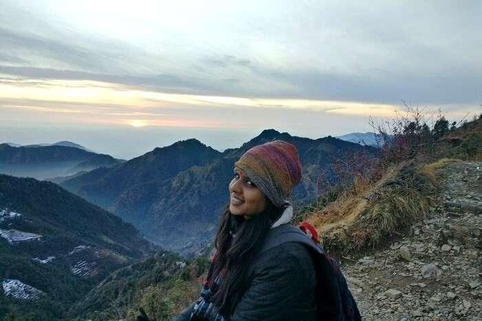 solo women trip to kanatal