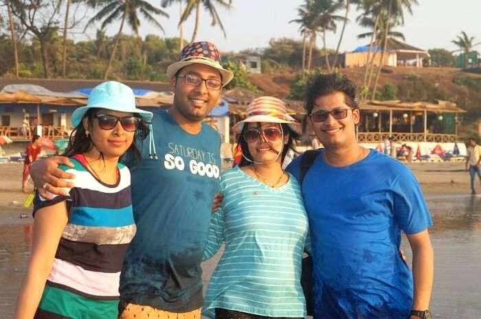 Travelers in Goa
