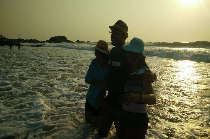 Tourists covering beaches in Goa