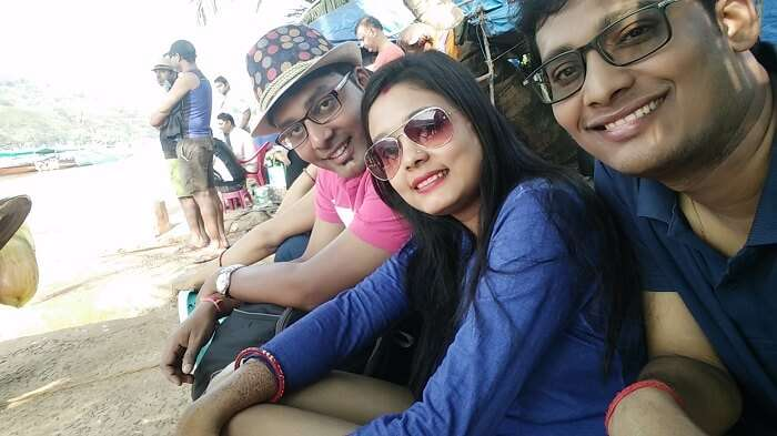 Soaking in Goa beaches