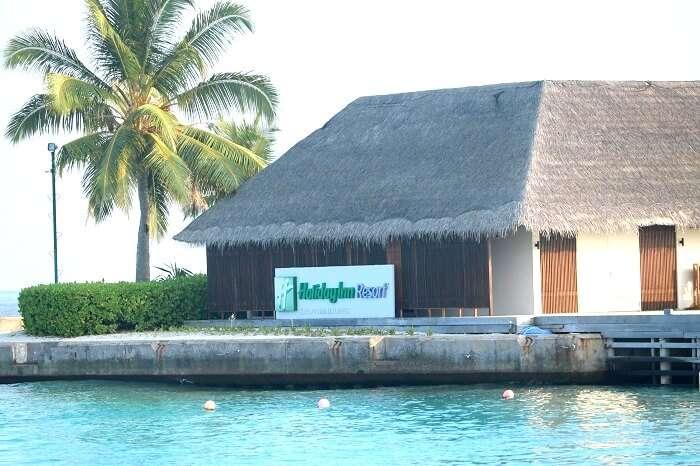 Holiday Inn in Maldives
