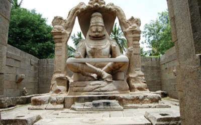 Lakshmi Narasimha Temple in Hampi