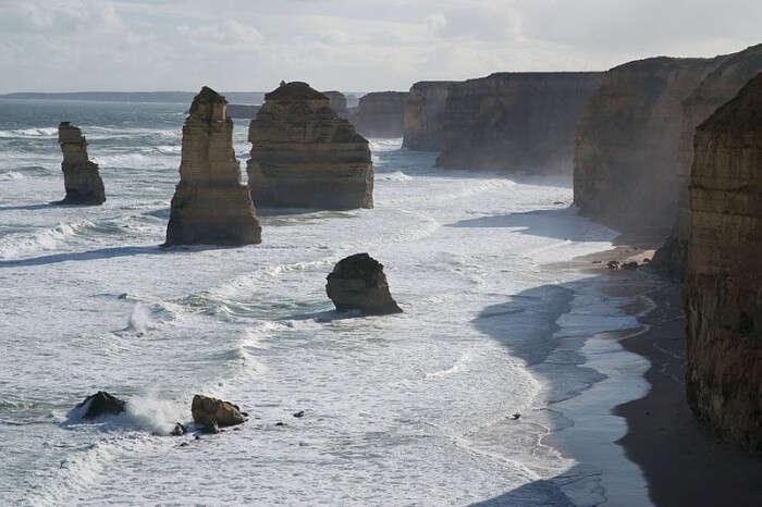 Rock Stacks Of The 12 Apostles