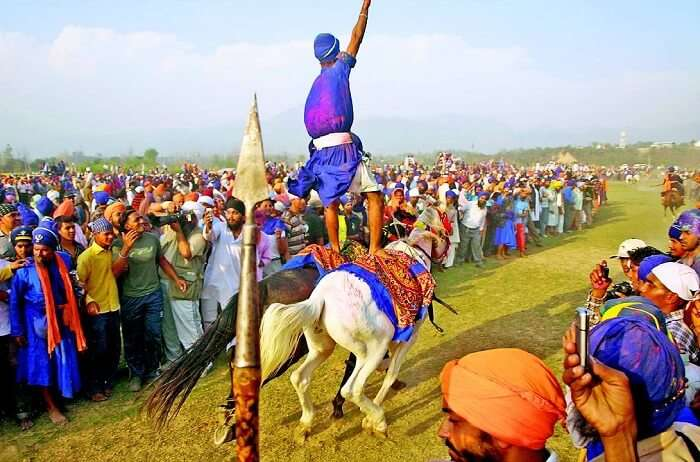 Celebrations of Holla Mohalla in Punjab