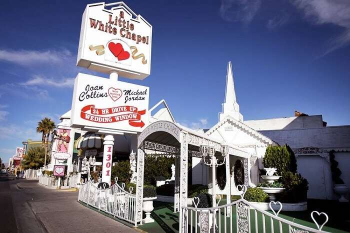 A Little White Wedding Chapel Las Vegas