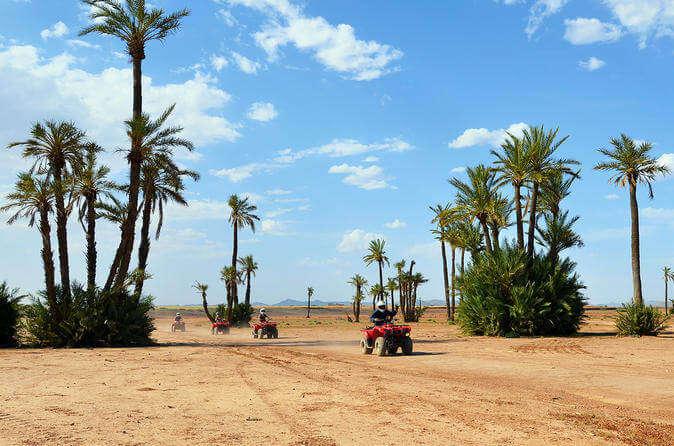 Quad biking on honeymoon in Morocco
