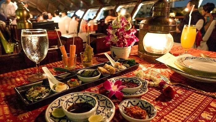 Chao Phraya River Dinner Cruise Bangkok