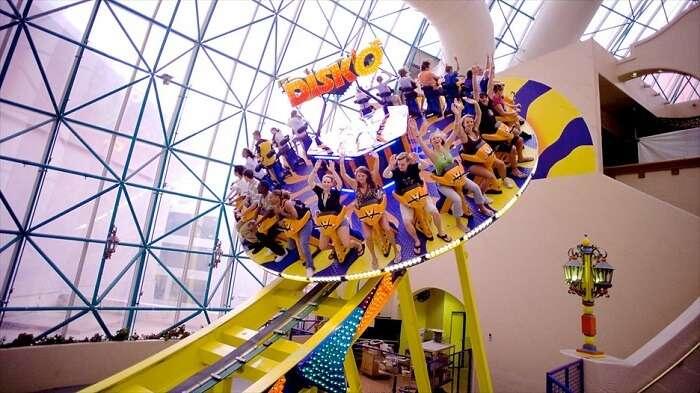 Fun at Adventuredome Vegas