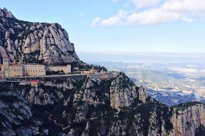 Montserrat in Barcelona, Spain