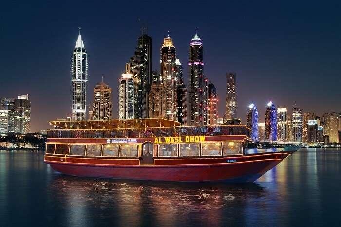 Dinner on Dhow Cruise Dubai