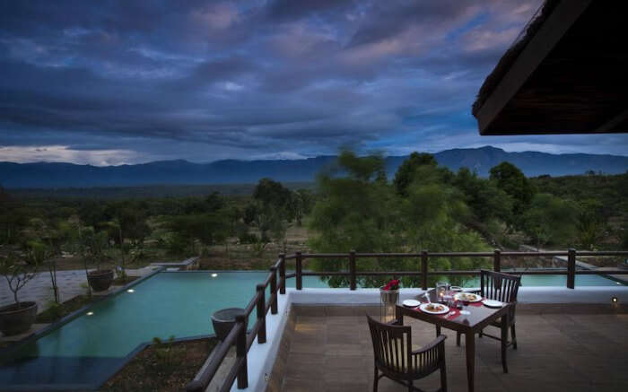 View of Bandipur from The Serai
