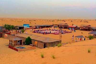 Atlanta desert safari camp in Dubai