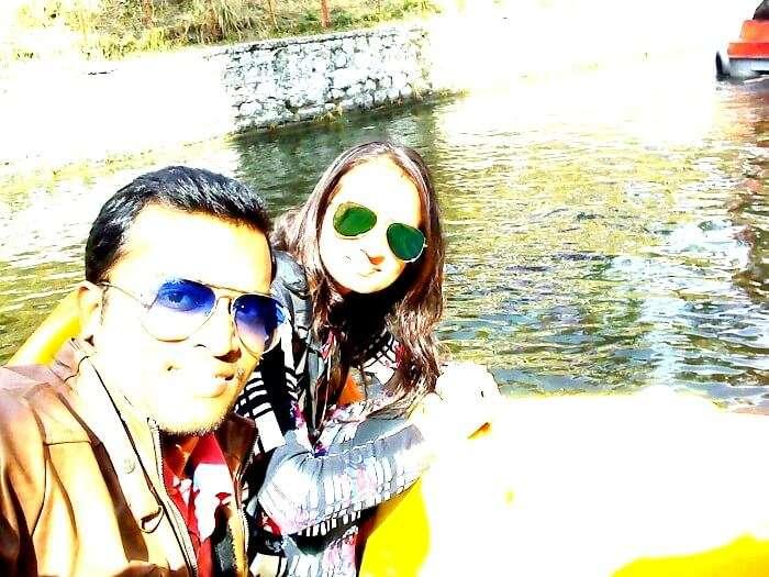 Tourists in Chandigarh