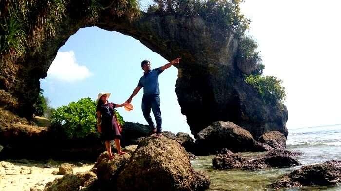 Tourists in Neill Island