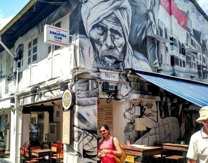 lovely graffiti in arab street