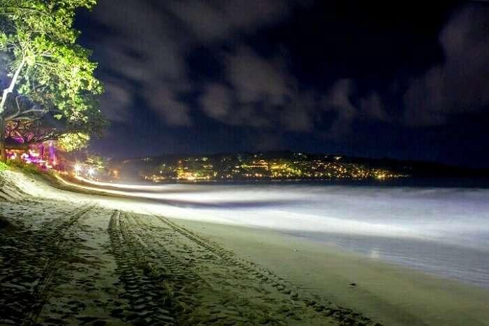 stunning nightsky in Bali