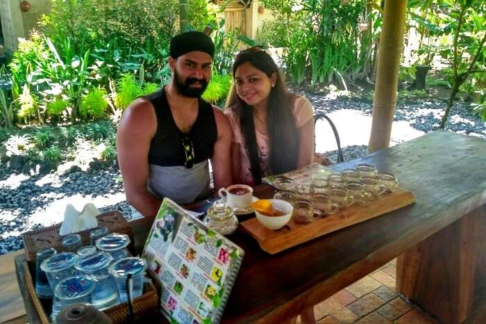 tradition coffee tasting in bali