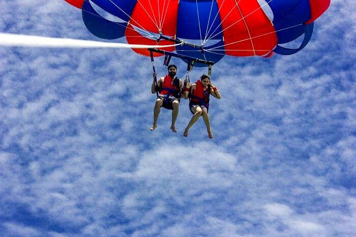 soaring high in nusa dua