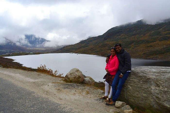Tsongo lake in sikkim