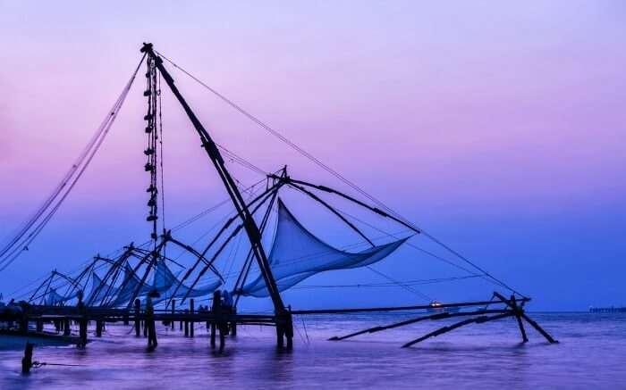 Chinese net in Kerala