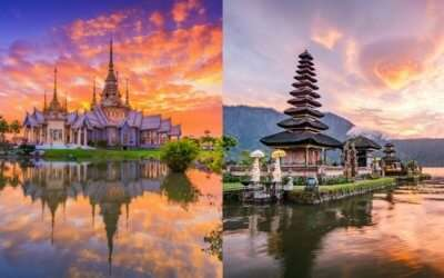Thailand Vs Bali collage