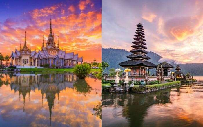 Thailand Vs Bali collage