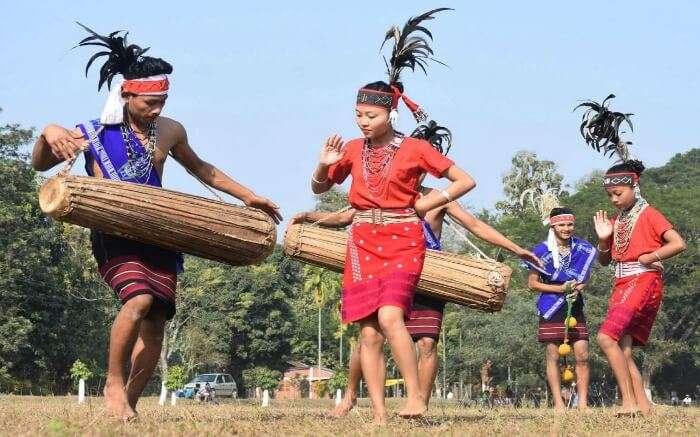 Tribal dance in Meghalaya promoting cultural growth