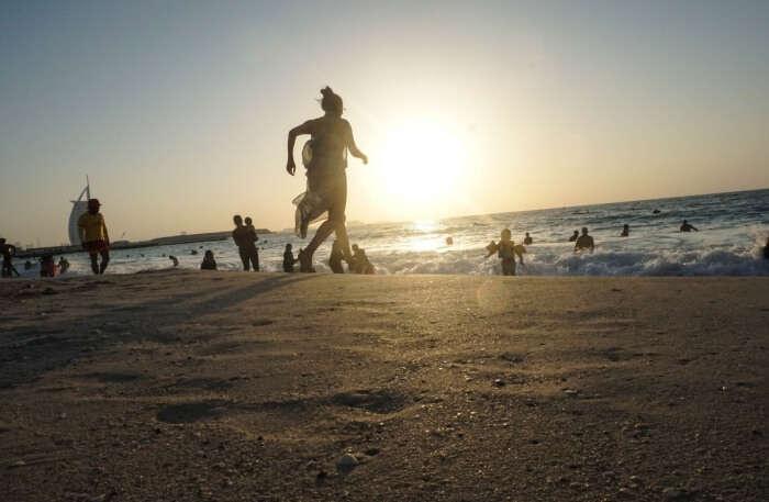 Smooth Sands Of Jumeirah Beach