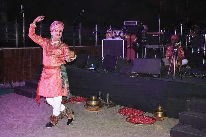 cultural event in neemrana