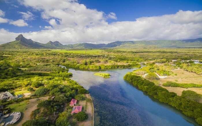 Black River in Curepipe Mauritius