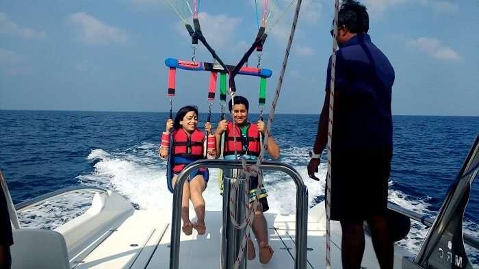 adventure sports in maldives