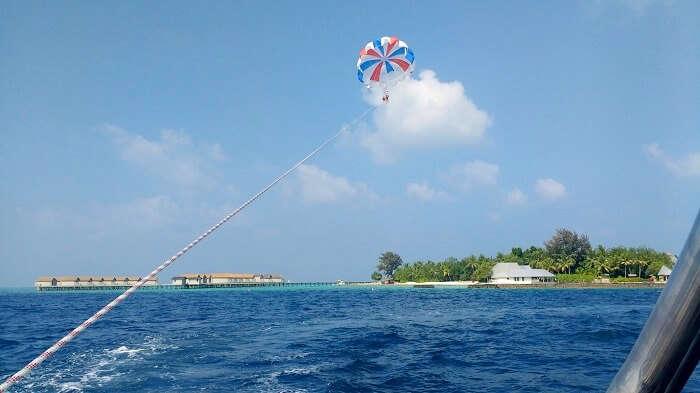 thrilling sports in maldives