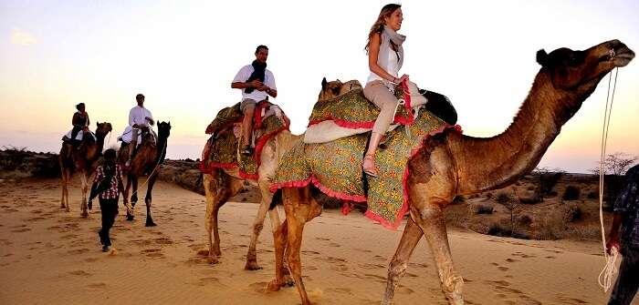 Honeymoon in thar
