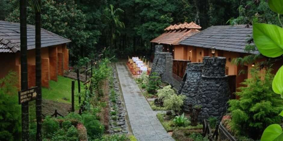 Honeymoon suites at Blue Ginger and Spa in Wayanad