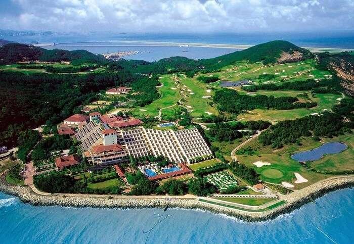 Coloane island in Macau