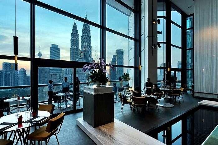 romantic restaurants in Kuala Lumpur