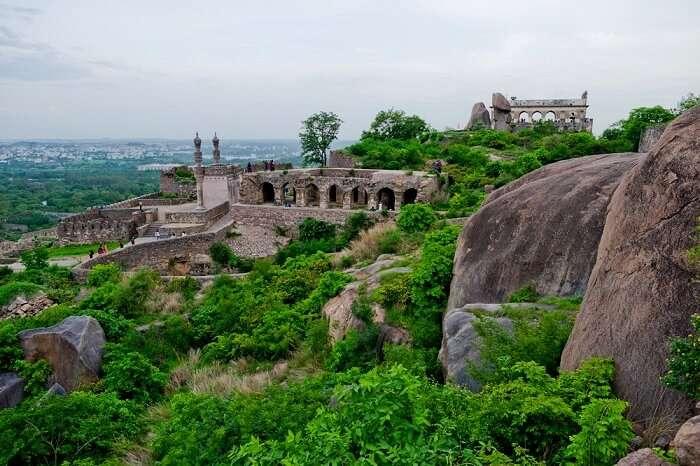 Golconda Fort, Hyderabad