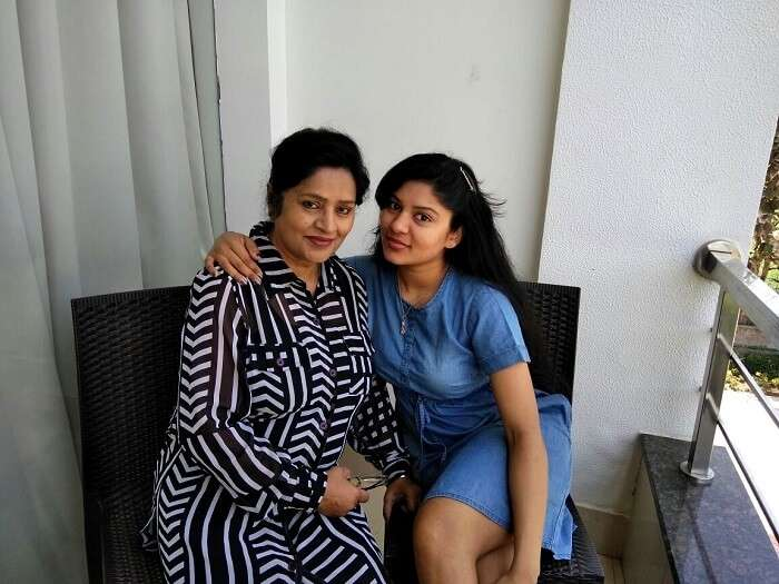 quality time with mother