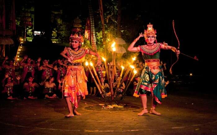Balinese traditional dance form