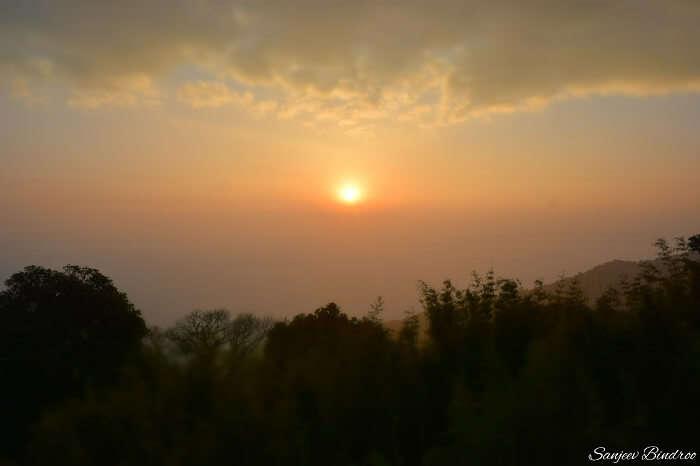 Sunrise at the Tiger Hills