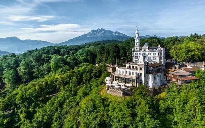 Chateau Gutsch in Switzerland