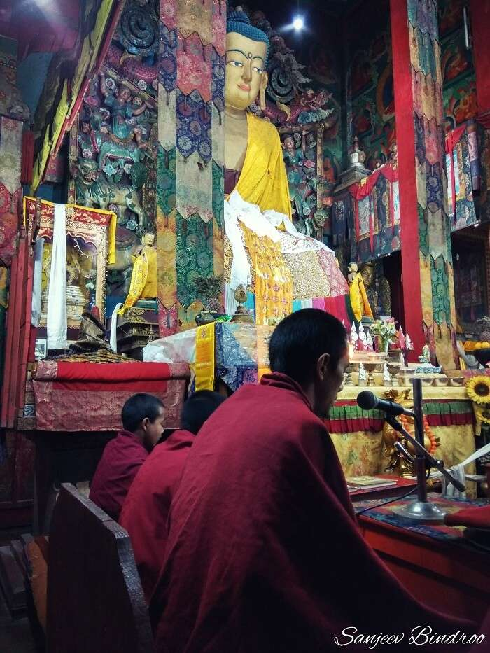 Ghoom Monastery in Darjeeling
