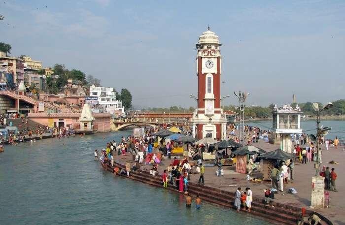 Haridwar ganga view
