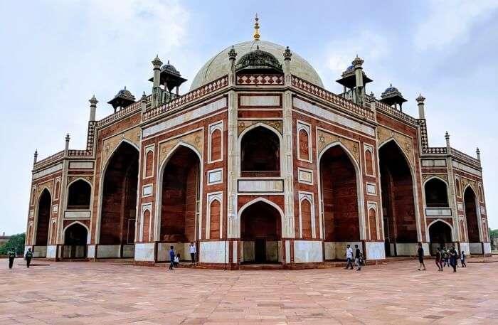 Humayun's Tomb View