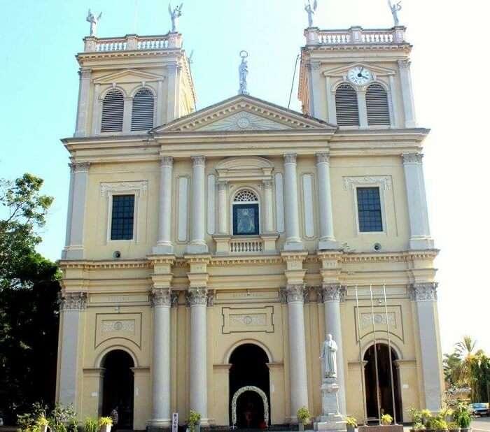churches in sri lanka