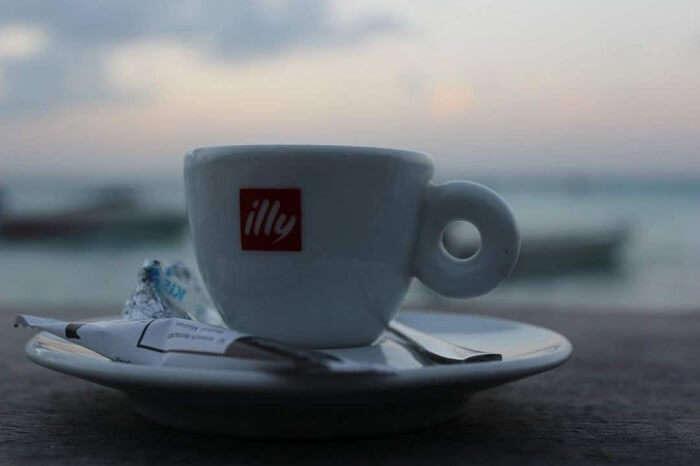 coffee mug maldives